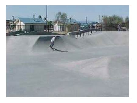 Desert West Skateboard Plaza
