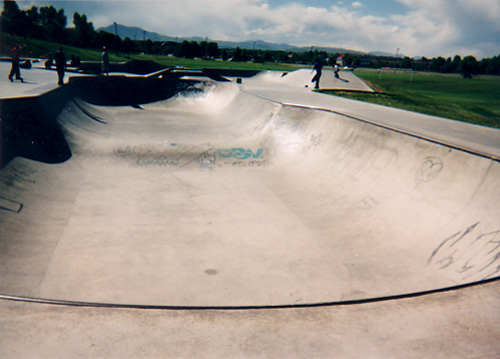 Clement Skatepark Bowl
