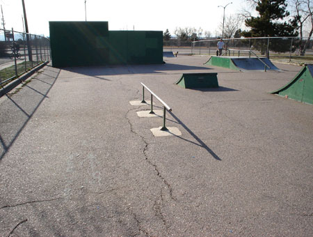 Cushing Skatepark - Englewood, Colorado