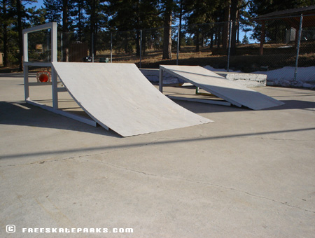 Couple Launch Ramps.