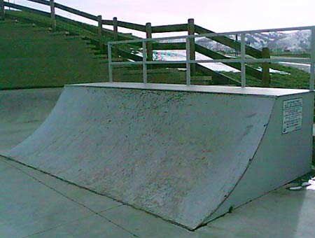 4. 4-foot quarterpipe