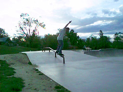 50-50 on the rail