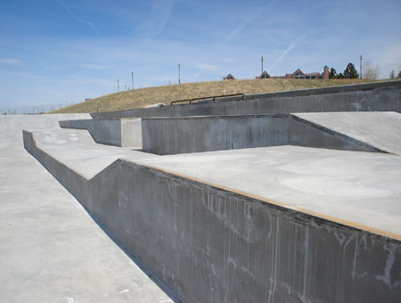 Westminster Skatepark - Three levels of ledges!