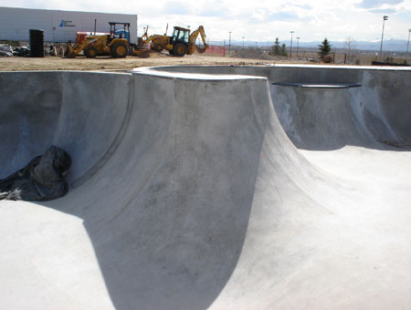 Westminster Skatepark - Under Construction